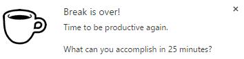 Pomodoro Productivity 1