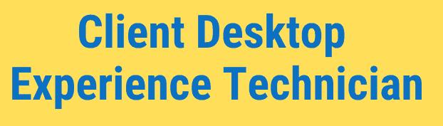 client desktop technician